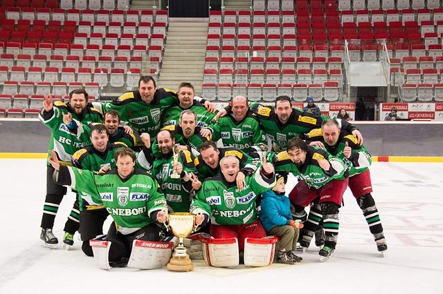 tým hokejistů